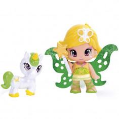 Figurine Zana verzulie si Unicorn, 7 cm, 3 ani+