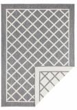 Covor Modern & Geometric Twin Supreme, Gri, 80x350, Bougari