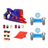 Set Lansator masinute Nerf Nitro, Rapid Flashfury blaster + 3 masinute, Plastic
