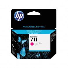 Cartus original cerneala HP 711 CZ131A, Magenta, 29 ml