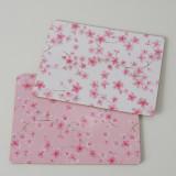 Set 4 suporturi oale fierbinti Sakura Alb / Roz, Modele Asortate, L40xl30 cm