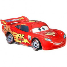 Masinuta metalica Fulger McQueen cu roti de concurs Cars