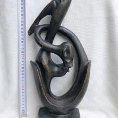 Impresionanta sculptura in lemn exotic (3)