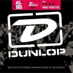 Corzi chitara bass Dunlop Nickel Plated Steel - Medium, 45-105