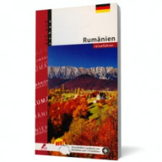 Rumanien - reisefuhrer. Ghid Romania cu harta (limba germana)