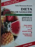 DIETA GRUPELOR SANGUINE de ANITA HESSMANN KOSARIS