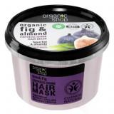 Cumpara ieftin Masca pentru par cu Smochine Grecesti si Migdale, Organic Shop Hair Mask, Ingrediente 98.67% Naturale, 250 ml
