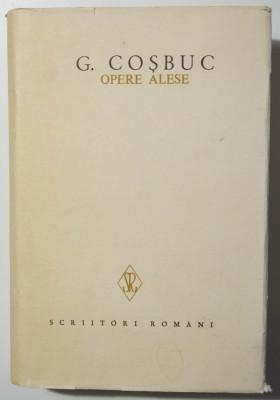 G. Coșbuc - Opere alese IV/ 4 (Scrieri în proză) (ed. Gavril Scridon) foto