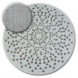 Covor rotund sisal Flat 48715/768 Vitraliu, cerc 120 cm