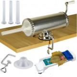 Cumpara ieftin Carnatar Masina Aparat Manual Umplut Facut Carnat 1.5kg  5 Palnii+Aparat Sarmale