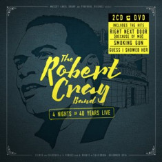 ROBERT CRAY BAND The 4 Nights Of 40 Years Live (2cd+dvd)