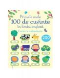 Primele 100 de cuvinte în limba engleză. Carte cu autocolante