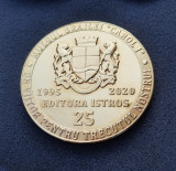 "Medalie Muzeul Brailei "" Carol I "" - tema cultura - Braila"