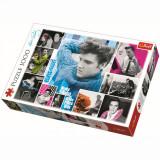 Cumpara ieftin Puzzle Trefl, Elvis Presley - Intotdeauna tanar, 1000 piese