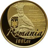 Moneda Aur 330 de ani de la tipărirea Bibliei de la București
