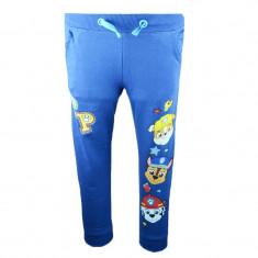 Pantaloni sport pentru baieti E Plus M Paw Patrol PBD-09, Albastru