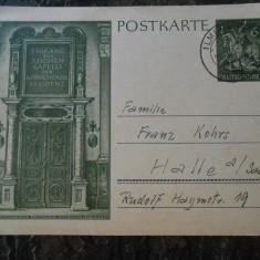 Carte postala Germania, circulata 1943, stare buna