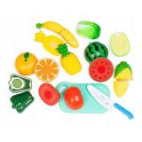 Un set de legume si fructe Ecotoys