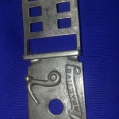 PAFTA/CATARAMA centura vech,incuietoare tip cocos pistol de epoca,T.GRATUIT