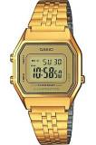 Cumpara ieftin Ceas Dama CASIO VINTAGE LADY GOLD LA-680WG-9