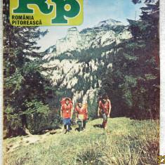Romania Pitoreasca cu harta turistica nr.7- nov. 1983