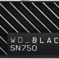 SSD Western Digital Black SN750, Heatsink, 1TB, M.2 2280, PCIe NVMe Gen. 3.0 x4