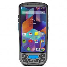Cititor coduri bare 1D 2D, PDA touch LCD 5.5 inch, SIM, TF slot SAM, Android, 8MP foto