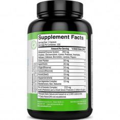 Zenwise Health Enzime Digestive Plus Prebiotice si Probiotice  - 180 Capsule