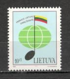 Lituania.1994 Festival de muzica Vilnius  KL.33, Nestampilat