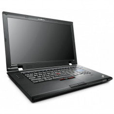 "Laptop Lenovo L520 Intel i5-2410M 2.30 GHz RAM 4GB HDD 320 GB 15.6"" Baterie Noua"
