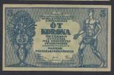A5348 Hungary Ungaria 5 korona kronen coroane 1919