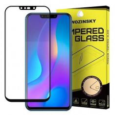 Folie Sticla Huawei P Smart Plus 2019 Wozinsky 5D Full Glue Negru