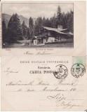 Casa Regala -Sinaia-Pavilionul de vanatoare- clasica, rara