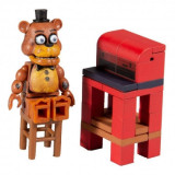 FNAF - Set constructie Freddy Fazbear with Parts and Services (39 piese)