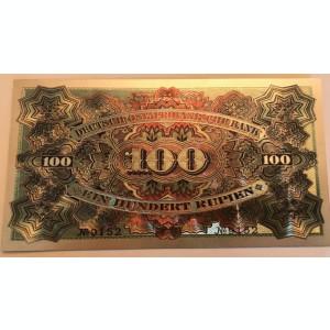 100 Rupii 1905 Kaiser Wilhelm colonie Germana Africa de Est argint