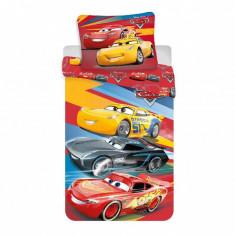 Set de pat Single Ranforce Cars