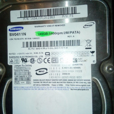 HDD  40GB, IDE diverse modele