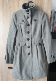 Palton cambrat MANGO