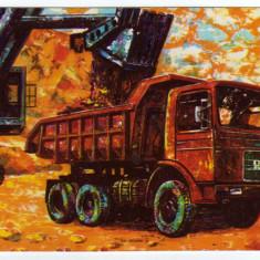 Intreg postal camion DAC T 2722 RECLAMA  FABRICA DE CAMIOANE AUTO TRACTOR BRASOV