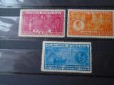 1932 LP 99 AL X-lea CONGRES INTERNATIONAL DE ISTORIE A MEDICINEI, Stampilat