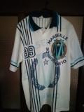 Tricou fotbal: Olympique de Marseille - aniversar 100 ani - 1999 - L/XL, Albastru, De club