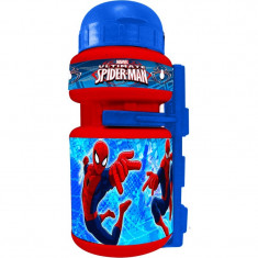 Sticla apa Spiderman Eurasia, 350 ml, design modern