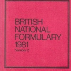 British National Formulary 1981 (number 2)