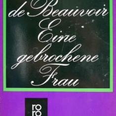 Eine gebrochene Frau – Simone de Beauvoir