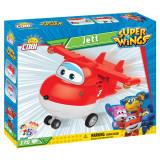 Set de construit Cobi, Super Wings, Super Wings Jett - (175pcs) (175 pcs)