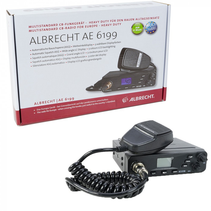 Resigilat : Statie radio CB Albrecht AE 6199 Cod 12699