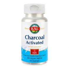 Charcoal Activated (Carbune medicinal) 280mg, 50cps, Kal