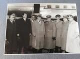 Fotografie 13x18,primire Maresal Jukov, Bodnaras,Chivu Stoica, si altii, anii 50