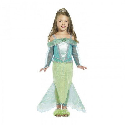 Costum Printesa Sirena fetite 3-4 ani, 100-113cm foto
