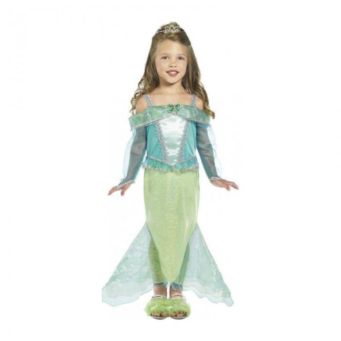 Costum Printesa Sirena fetite 3-4 ani, 100-113cm